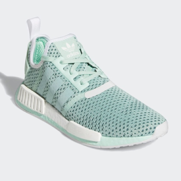 adidas Shoes | Nmd R1 Teal And White 6